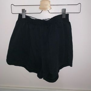black soffe shorts